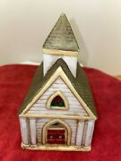 Vintage Retired Partylite Tealight Church Candle Holder P0563