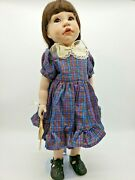 One-of-a-kind 1984 Lee Middleton Simplicity 2 Test Porcelain Doll Signed And Coa