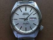 Seiko 5 Actus 6306-8000 Vintage Day Date Silverwave Japan Automatic Mens Watch