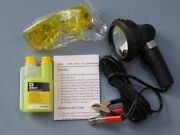 1x Set Leak Detection In Car Air Conditioning Uv Lamp Safety Goggles R12 R134a
