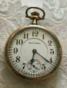 Antique Southbend 219 Montgomery Dial 19 Jewel Size Pocket Watch