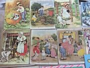 Six Vintage Madmar Jigsaw Picture Puzzles Series 412, Nice
