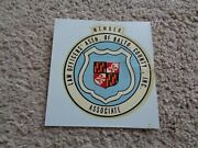 1970 Law Officers Association Of Baltimore County Member Associate Decal Sticker