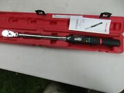 Mac Twva250fd 1/2 Drive Electronic Angle Torque Wrench 15-250 Ft-lbs With Case