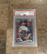 2014 Jacob Degrom Topps Update Chrome Psa 10 Us-50 New York Mets Cy Young Mvp