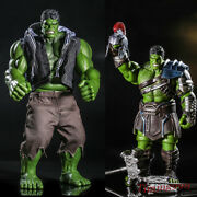 Hulk With Action Figure City And Combat Versio Toy Collection Model