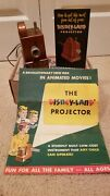 Vintage Disneyland Projector With Box And Instructions Kids Toy No Transformer