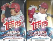 2018 Topps 3-box Hobby Bb Lot Series 1 And 2 And Update Series Ronald Acuna Rc