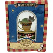 """New Mary Engelbreit Enesco """"we Wish You A Merry Christmas"""" Musical Waterball"""
