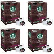 Starbucks French Dark Roast Coffee K-cup Pods - 96 Count-exp12/2021-free Ship