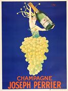 Original French Champagne Joseph Perrier Poster By Stall 1930and039s