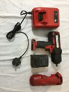 Snap-on 1/2andrdquo Impact Gun With Battery And Charger