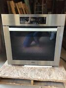 Miele H6180bp 30andrdquo Contourline Stainless Steel Wall Oven