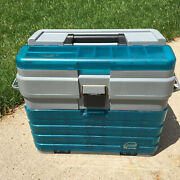 Plano Guide Series Large 15 Tall Fishing Tackle Box 6 Storage Area Spinner Bait