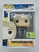 Funko Pop Doctor Who Thirteenth Doctor 619 Sdcc 2018 First To Market 1300pc Le