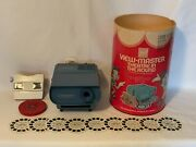 Vintage Gaf Viewmaster Disney Theatre In The Round Working Projector + Reels