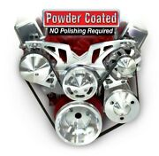 March Performance Bbc Style Track Pulley Set Alt A/c With P/s