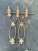Antiques Wrought Cast Iron Fence Decorative Salvage