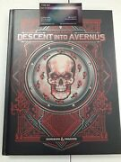 Dnd Book Dungeons And Dragons Descent Into Avernus Alternate Cover Fast Shipping