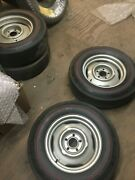 Mopar Dodge Plymouth Hemi And A Code Vintage H Code Factory Steel Wheels