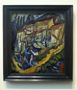 Rare Chaim Soutine Painting - Expressionist Painting