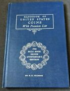 Handbook Of The United States Coins With Premium List 1968 Blue Book Yeoman