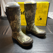Cabelas Mens 2793456 Insulated Rubber Mid Calf Military Green Rain Boots Size 11