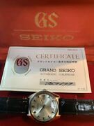 Grand Seiko 6145-8000 1969 Made In June With Standards Pass Certificate