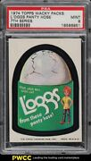 1974 Topps Wacky Packages 7th Series L'oggs Panty Hose Psa 9 Mint