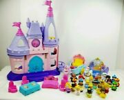 Fisher Price Little People Cinderella Snow White Princess Songs Palace 2012 Lot