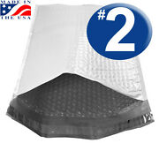 Size 2 - 8.5x11 Poly Bubble Mailer - We Ship Today Usa Made