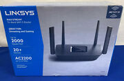 Linksys Ea8300 Max Stream Dual Band Wireless Router - Black New