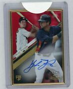 Kyle Tucker 2019 Topps Gold Label Auto Rookie Red Serial D 13/25 Houston Astros