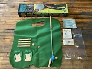 Vintage 1968 Marx Toys Arnold Palmer's Indoor Mini Golf Course Putting Game