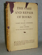 Antique Librarian Archivist Collector Book Care And Repair Of Books W/dj 1931