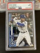 2020 Topps Series 1 Kyle Lewis Rc Father's Day 18/50 Psa 9 Pop 6 None Higher Roy