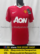 Manchester United 2010-2011 Home Champion19th Shirt Jersey Red Bnwt Original