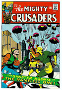 The Mighty Crusaders 5 In Vf+ Condition A 1966 Silver Age Radio Comic