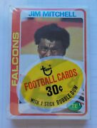 1978 Topps Football Cello Pack John Riggins Showing Unopened Tight Seal