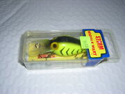 Storm Pre Rapala Wiggle Wart V 35 Charteruse / Black Hb Collector  New In Box