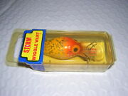 Storm Pre Rapala Wiggle Wart V 70  Yellow Glitter Collector New In Sealed Box