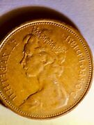 Extremely Rare - 1971 2 New Pence Queen Elizabeth Ii