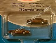 N Scale Mini Metals '78 Chevrolet Impala Classic Metal Works.. New Old Stock..