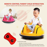 Ride On Bumper Car Toy For Toddlers Aged 1.5+ 6v Battery-powered With Light Cars