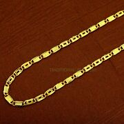 Pure 22kt 20kt Gold Certified Royal Fancy Nawabi Chain Necklace Gift Jewelry 34