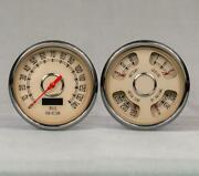1947 1948 1949 1950 1951 1952 1953 Chevy Truck Origanal Style Gauges Direct Fit