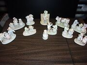 """11 Figurines - Home Interiors Homco """"circle Of Friends"""" By Masterpiece"""
