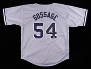 Goose Gossage Signed New York Yankees Jersey Jsa Holo 1978 World Series Champs