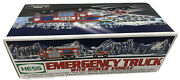 Hess 2005 Emergency Fire Truck With Rescue Vehicle Brand New