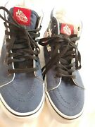 Unisex Sk8-hi Skate Shoes Peanuts Snoopy Flying Ace Men's 5.0 Womens 6.5